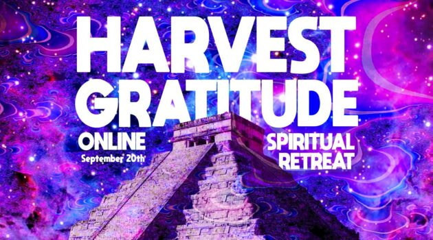 Harvest Gratitude Spiritual Retreat Banner