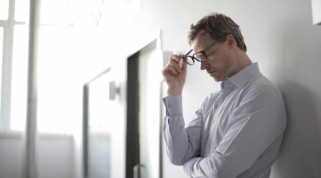 Image of a Stressed Man